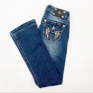 MISS ME Jeans Bootcut Size 25